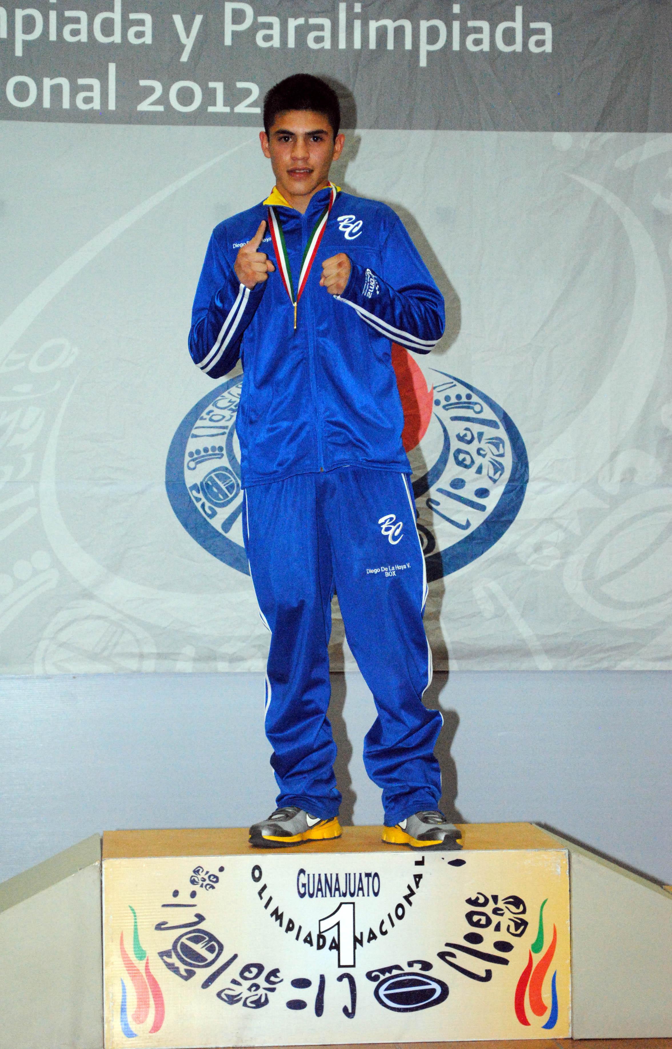 cbe7d06d6 Diego De la Hoya campeón nacional en 56 kilos Juvenil Mayor